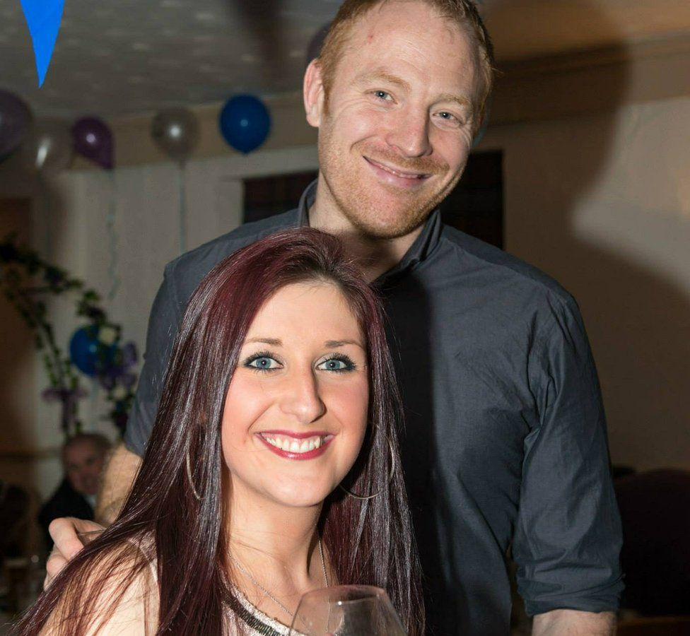 Jodie Willsher with her husband Malcolm