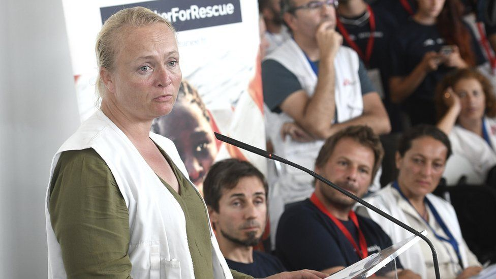 Karline Kleijer, MSF's Head of Emergencies