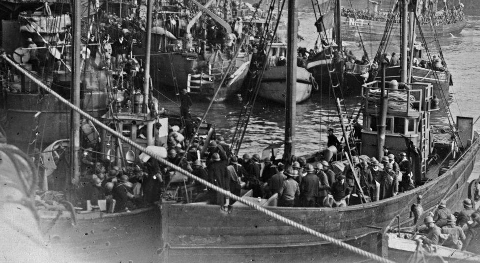 Dunkirk recue vessels