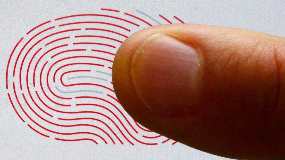 Fingerprint and a finger
