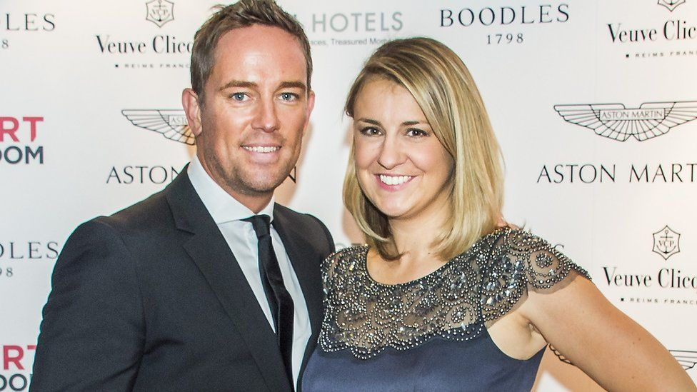 Simon and Gemma Thomas in 2015