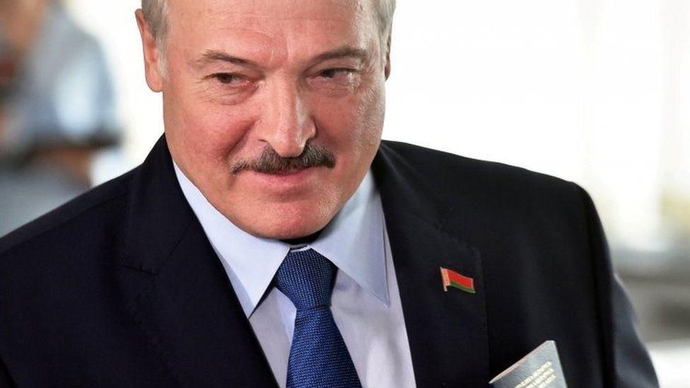 Belarusian President Alexander Lukashenko. File