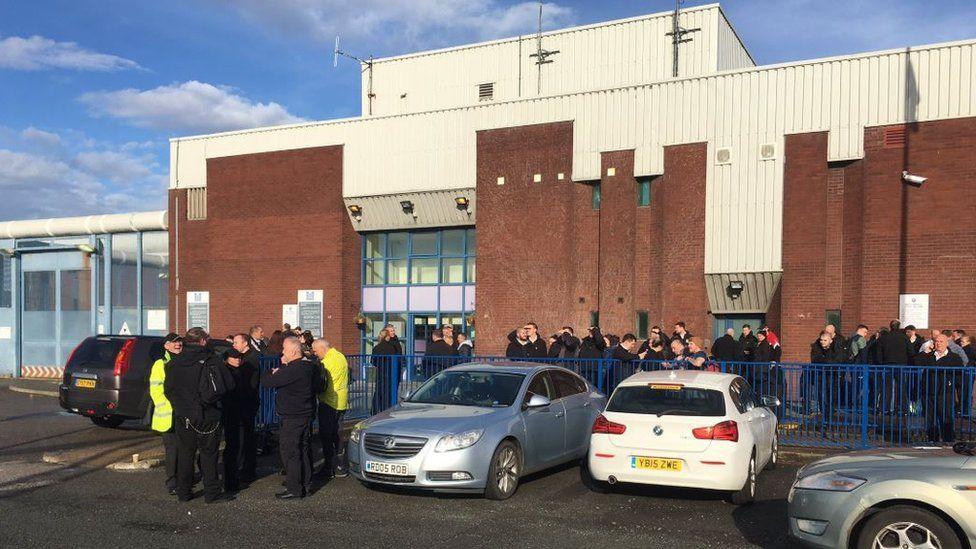 HMP Liverpool strike
