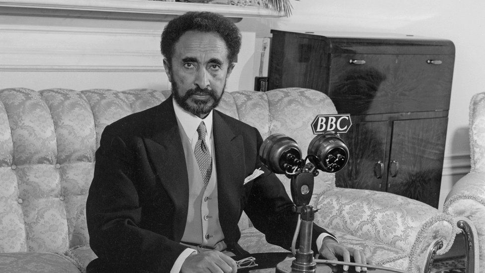 His Imperial Majesty Haile Selassie I, Emperor of Ethiopia