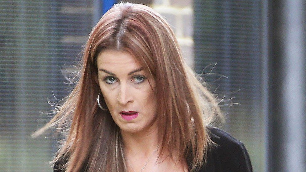 Naomi Oxley appearing at Hastings magistrates court