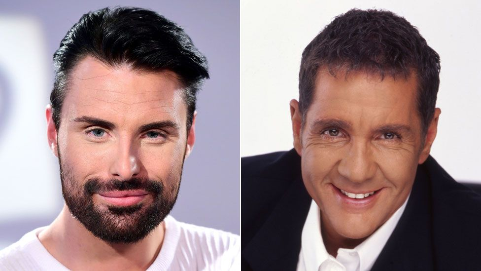 Rylan Clark-Neal and Dale Winton