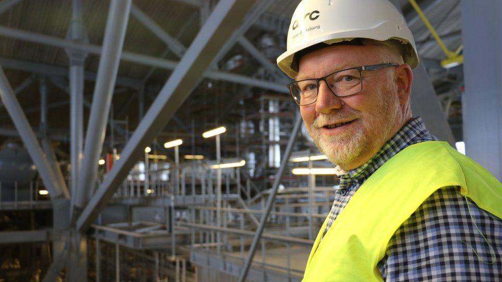 Chief engineer Peter Blinksbjerg