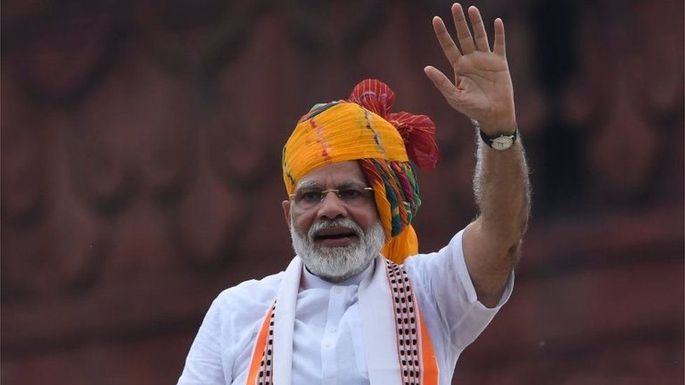 India PM Narendra Modi vows to 'restore' Kashmir's 'past glory'