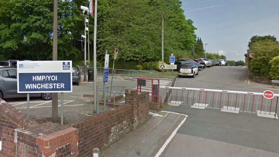 Winchester prison: Inmates breach 'weak walls' in mass cell breakout