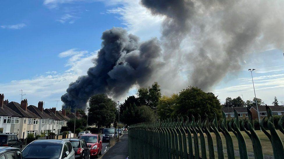 Incendio en Kidderminster