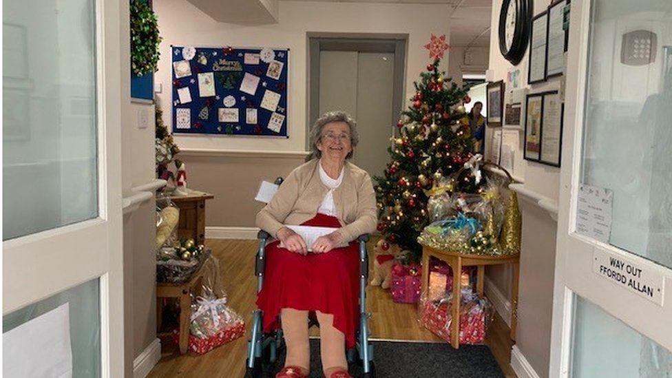 Bryn Yr Haul House resident Glenda Waye
