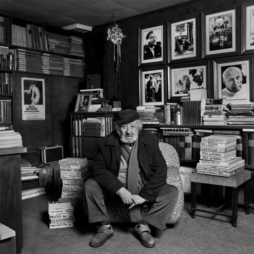 آرا گولر در اتاق گارش در استانبول