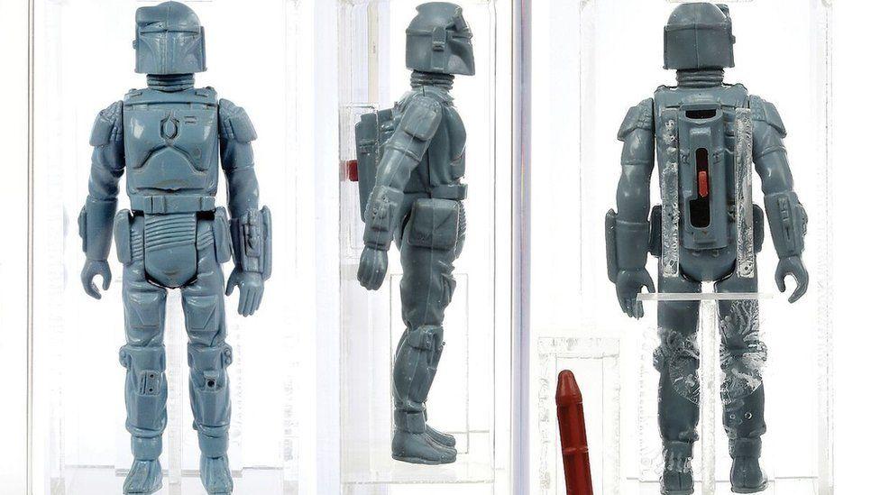 Star Wars Boba Fett figure sells for £26,000 - BBC News