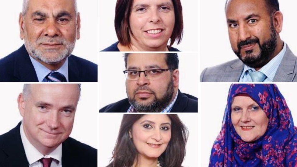 Ansar Ali, Angus Ellis, Samantha Hemraj, Mohammed Jamil, Shabina Qayyum,Mahboob Hussain andAasiyah Joseph