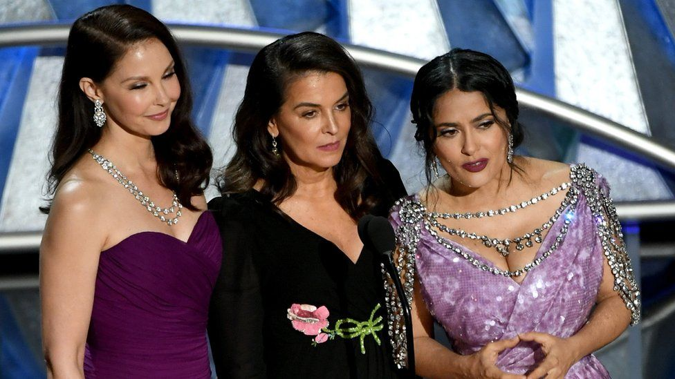 Ashley Judd, Annabella Sciorra and Salma Hayek