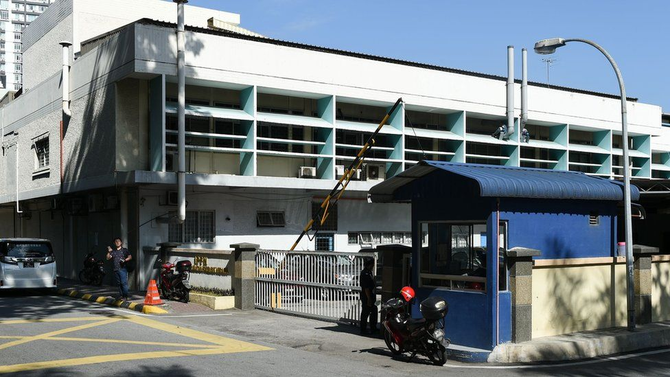 A general view of the forensic department at Kuala Lumpur hospital, Malaysia, on February 17, 2017.
