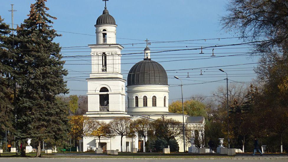 Chisinau's Metropolitan Cathedral