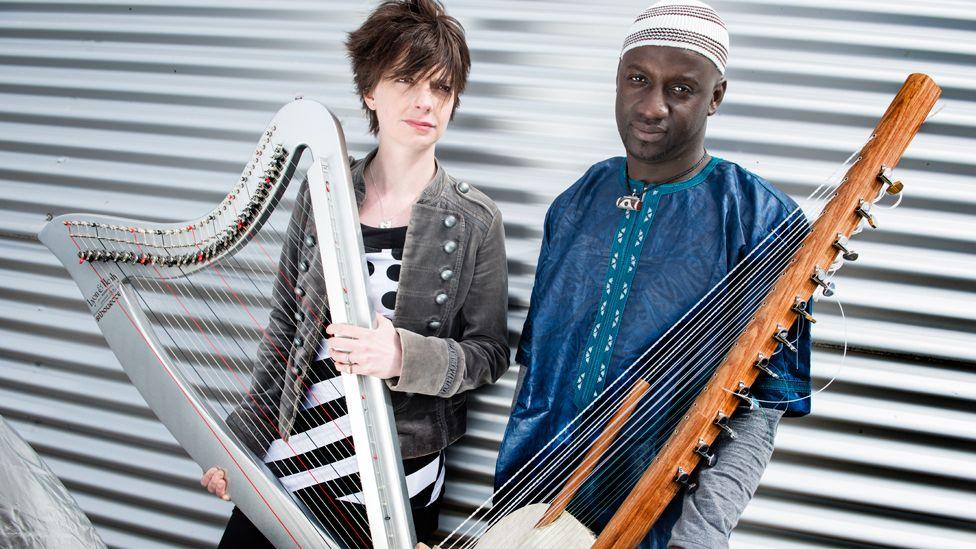 Catrin Finch and Seckou Keita