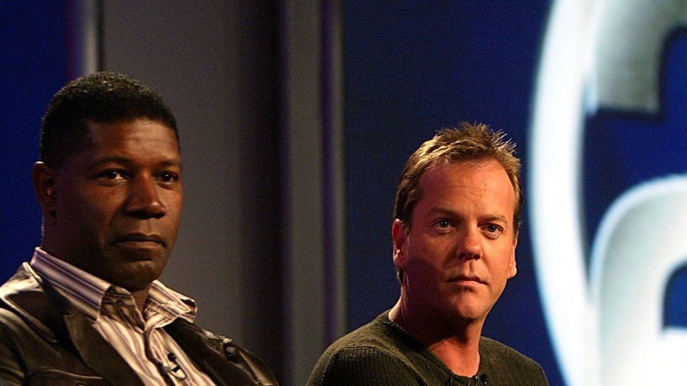 Dennis Haysbert and Kiefer Sutherland, who played David Palmer and Jack Bauer