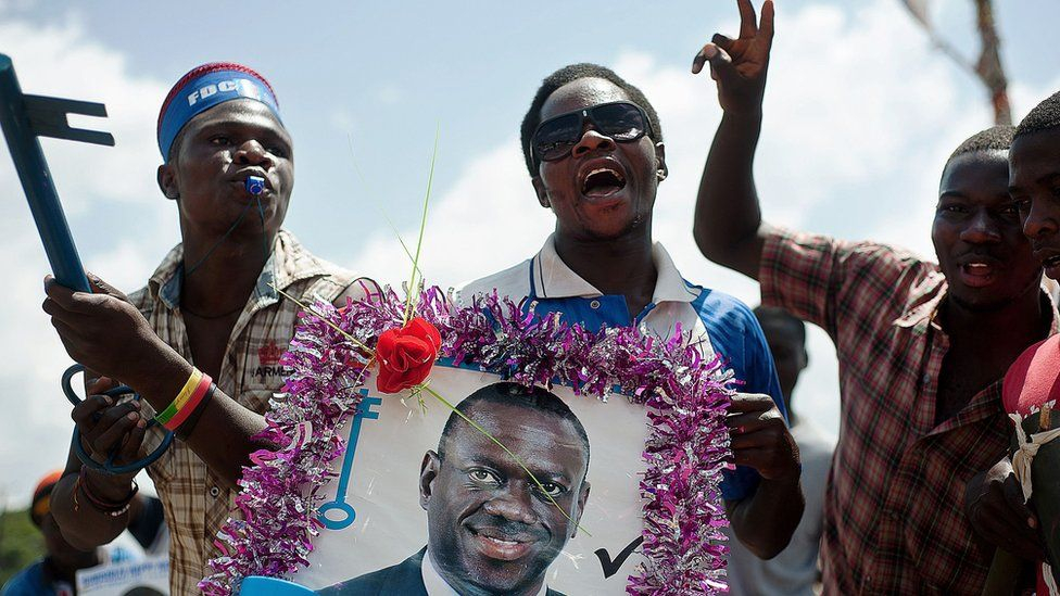 FDC supporters in Uganda