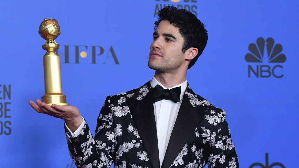 Best Performance by an Actor in a Limited Series or Motion Picture Made for Television for 'The Assassination of Gianni Versace' winner Darren Criss