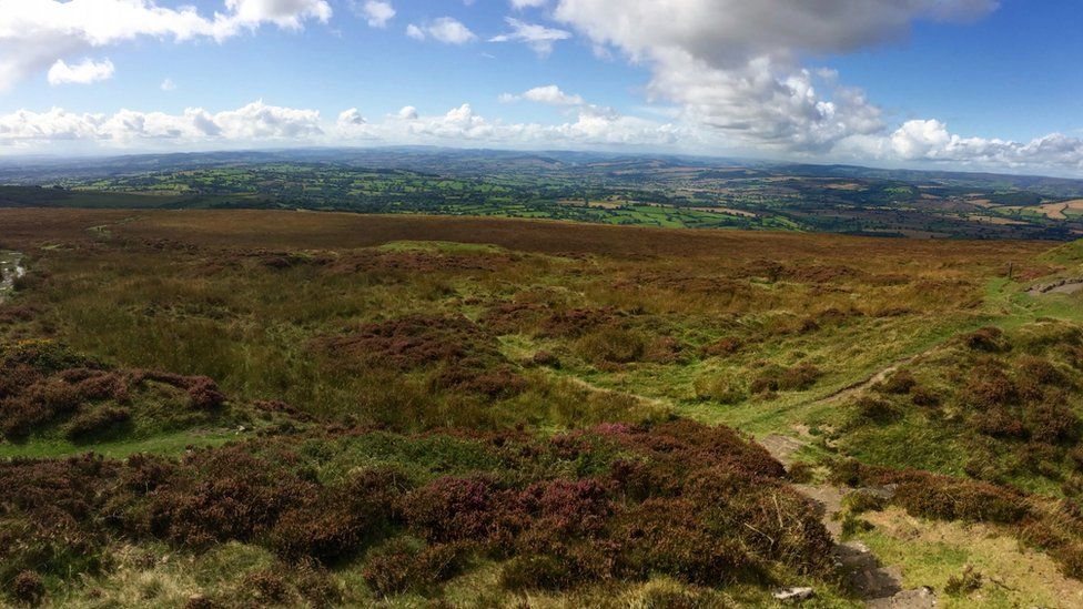 Brown Clee Hill, Shropshire Hills