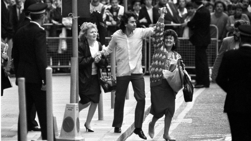 Gerry Conlon, one of the Guildford Four , was released in October 1989