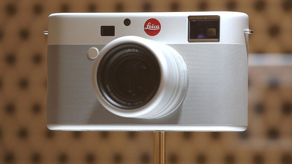Leica camera designed by Jony Ive and Marc Newson