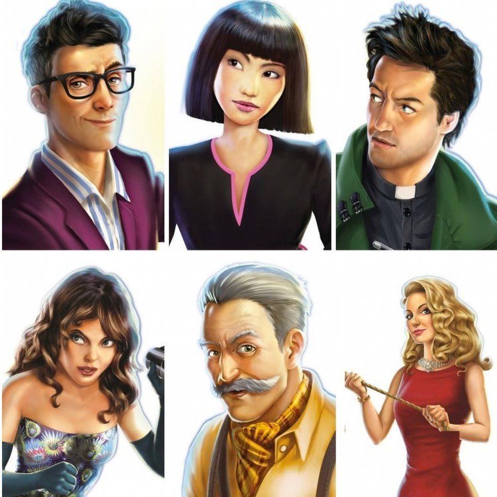 Cluedo characters