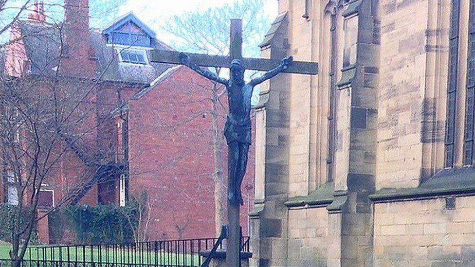 Crucifix at All Saints Church