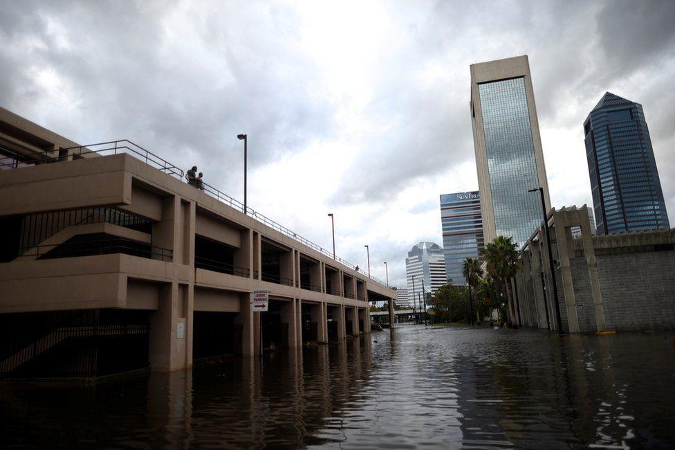Flooding in Jacksonville, Florida, 11 September