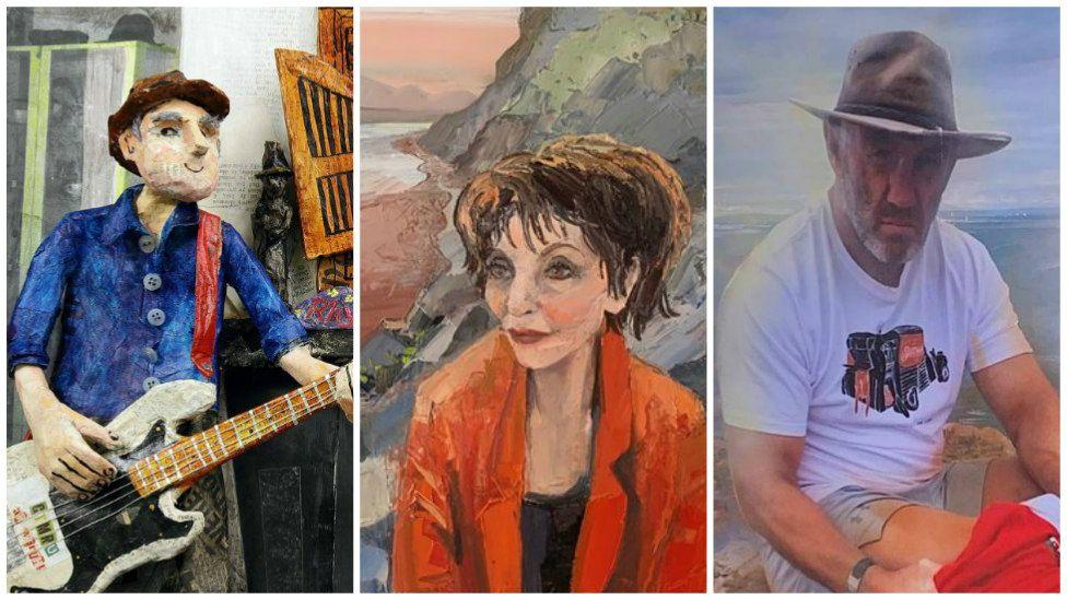 Rhys Mwy, Margaret Williams, Robin McBryde