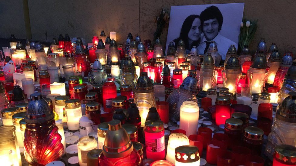 Memorial to Jan Kuciak