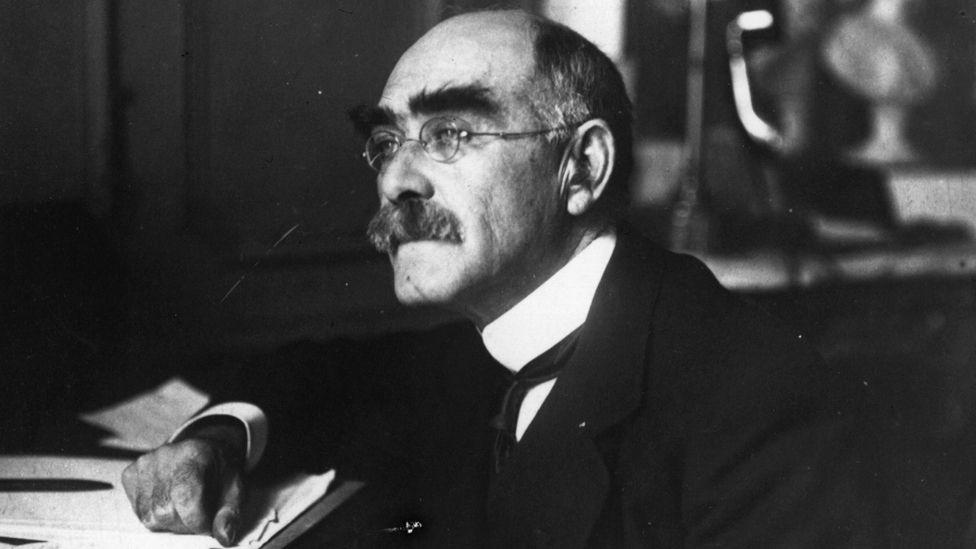 Rudyard Kipling, photographed in 1910