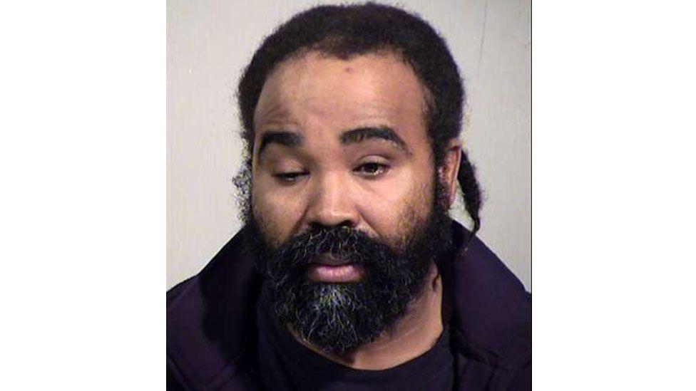Mugshot of the suspect