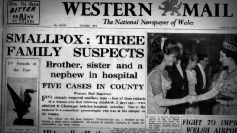 How the Western Mail reported the story