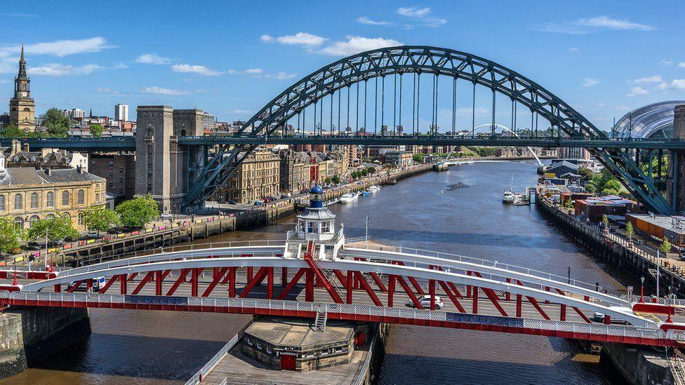 The Swing and Tyne bridges