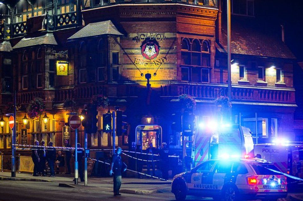 Police in Nottingham city centre