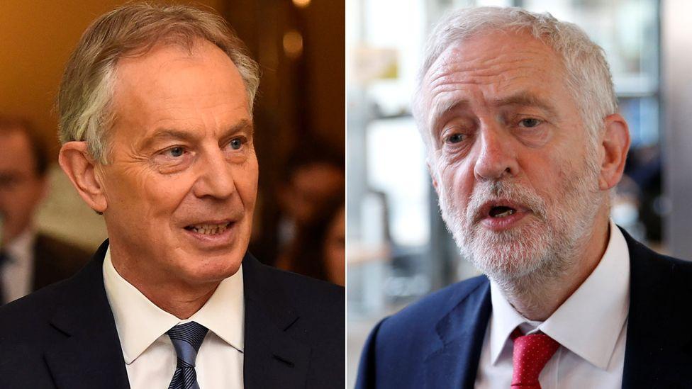 Tony Blair, Jeremy Corbyn