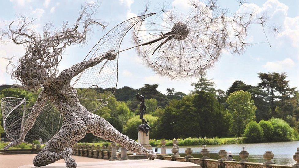 Wishes sculpture