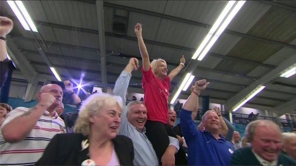 Leave voters in Sunderland