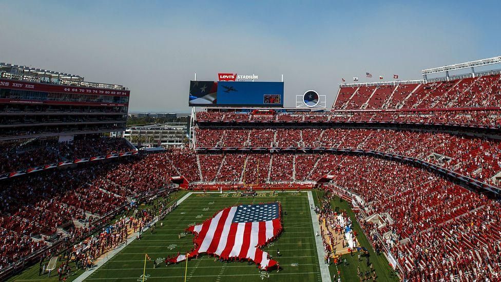 Levi Stadium, home of the San Francisco 49ers