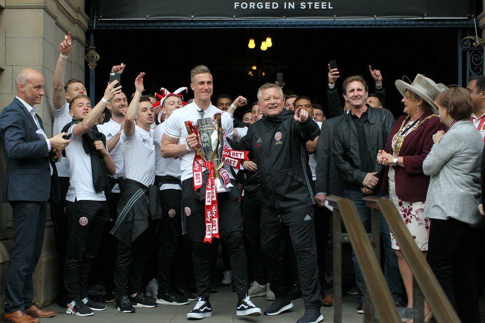 Sheffield United players