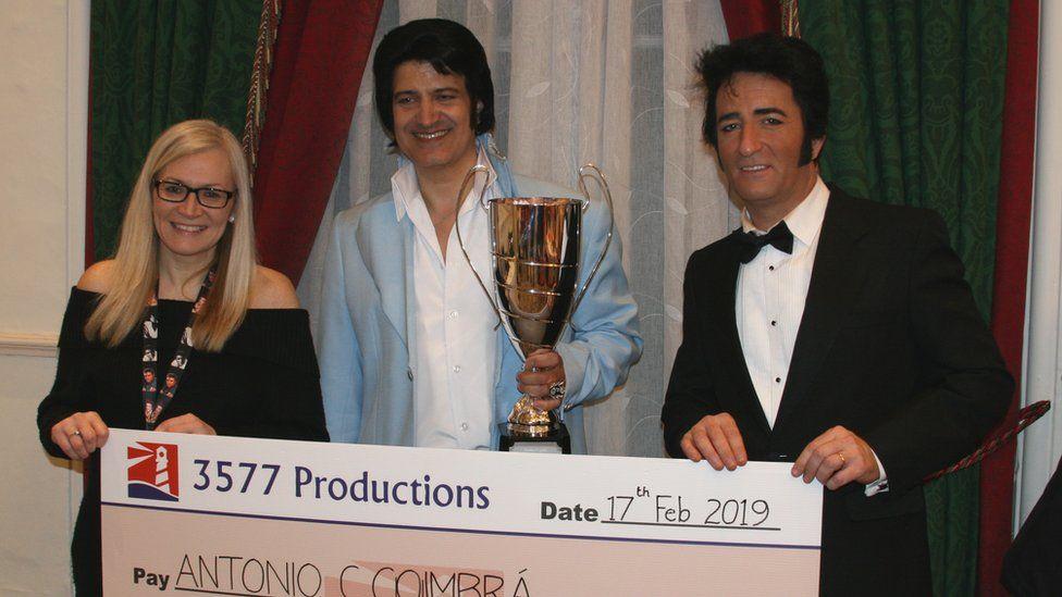 Harbor Lights winner 2019, Antonio Carlos Coimbra