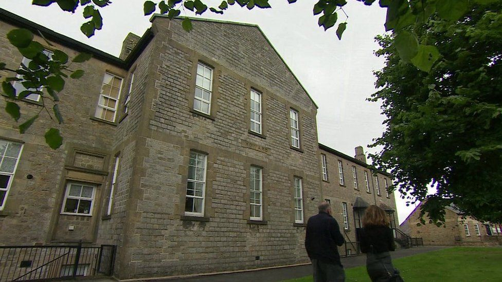 The outside of the former Richmond Hill Approved School in 2016