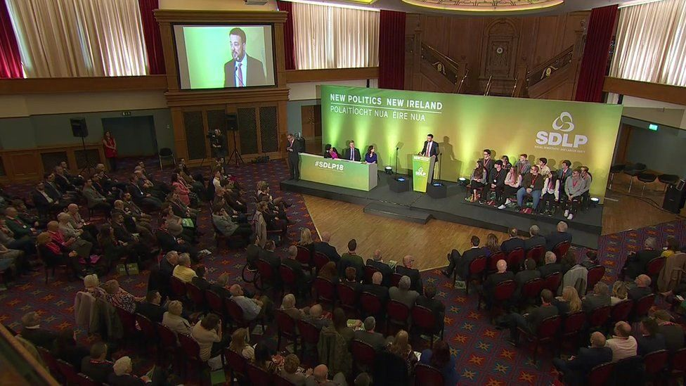 The SDLP annual conference in east Belfast
