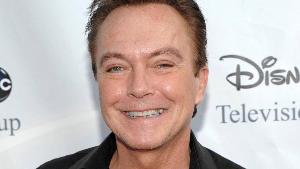 """Actor-singer David Cassidy, best known for his role as Keith Partridge on """"The Partridge Family,"""" arrives at the ABC Disney Summer press tour party in Pasadena, California on 8 August, 2009"""
