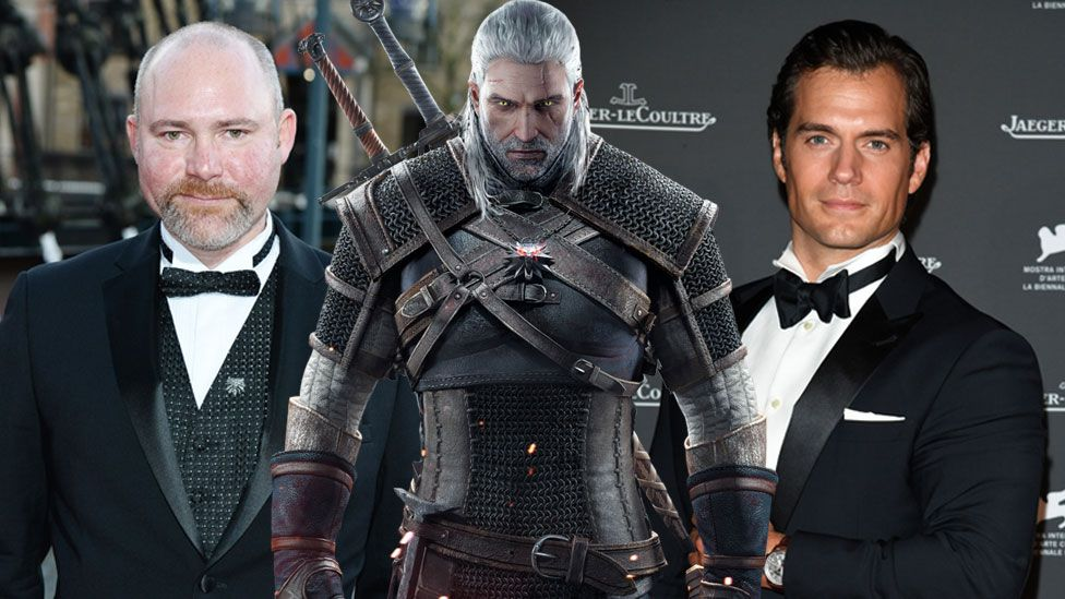 Doug Cockle, Geralt and Henry Cavill