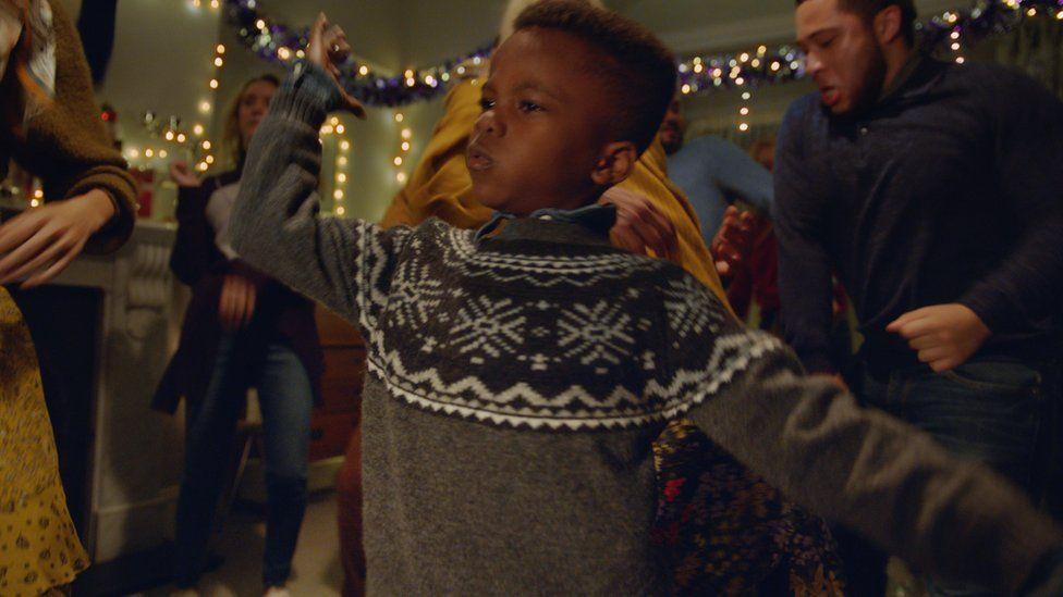 M&S's festive clothing ad
