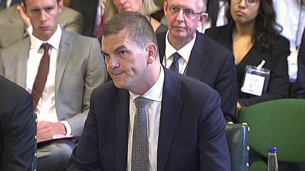 The PM's Brexit adviser Olly Robbins